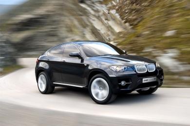 Концепт BMW X6 на Франкфуртском автосалоне