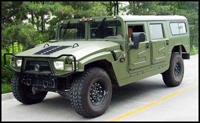 китайский автомобиль Dongfeng Armor