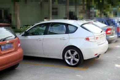 Шпионские фотографии Subaru Impreza STI