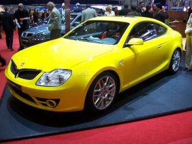Первый китайский спортивный автомобиль Brilliance BC3