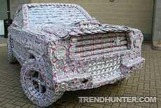 Форд из алюминиевых банок