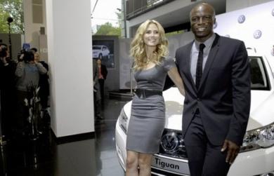 Хайди Клум и Seal официальное лицо нового Volkswagen