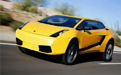 Внедорожник Lamborghini - Рэмбо-Ламбо возвращается