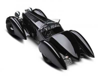 Mercedes-Benz Trossi SSK создан по спецзаказу гонщика графа Карло-Феличе Тросси в 1930 году