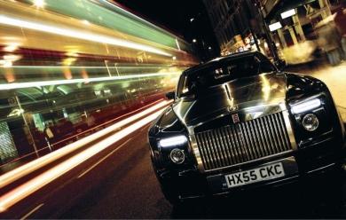 Автоконцепт Rolls-Royce 101EX