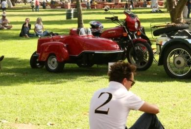 Фестиваль мотоциклов с коляской