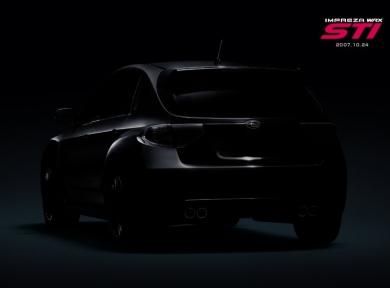 Официальная фотография новой Subaru Impreza WRX STI