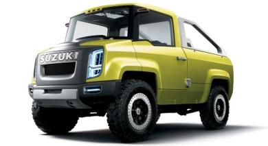 Футуристический концепт внедорожника Suzuki X-Head