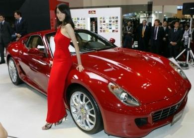 Ferrari 599 GTB на токийском автосалоне Tokyo Motor Show 2007