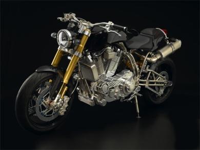 Самый дорогой в мире мотоцикл Ecosse Heretic Titanium