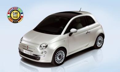 Fiat 500 автомобиль года