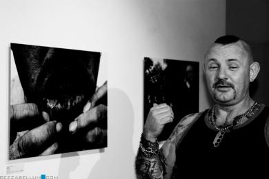 На выставке побывал один из героев фотографий Берни
