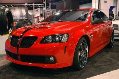 Pontiac G8 от 50 Cent и тюнинг-ателье Unique Autosports