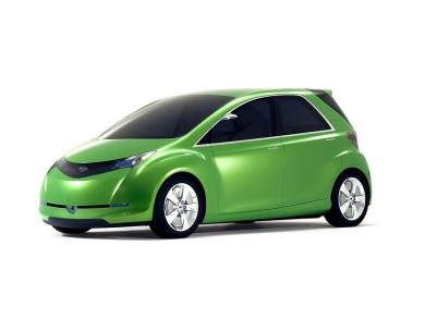 Концепт пятиместного электромобиля Subaru G4e