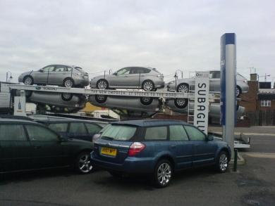 Subaru липнет к дороге