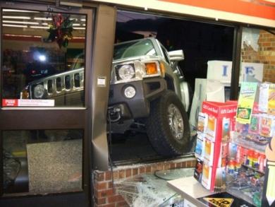 Авария Hummer