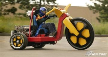 мотоцикл Hemi Trike сумасшедшие и странные  автомобили прошло года