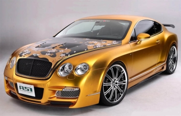 Bentley Continental GT от тюнинг-мастерской ASI