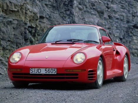 Porsche 959 Coupe Билла Гейтса, основателя  Microsoft