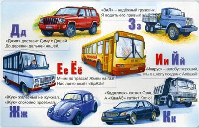 Автомобильная азбука - Автоазбука