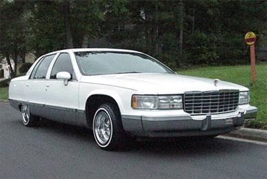 заднеприводной Кадиллак - Cadillac с задним приводом