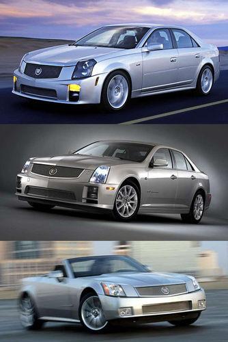 Cadillac сказал своё слово в классе «заряженных» автомобилей тремя моделями V Series: CTS-V, STS-V, XLR-V