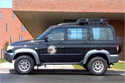 УАЗ экспортируется в Германию