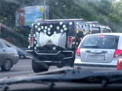 свадебный Hummer