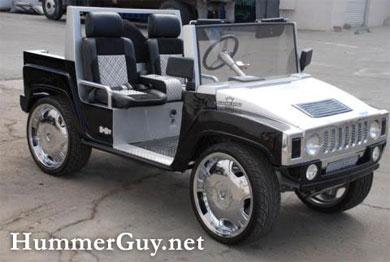 Hummer для гольфа