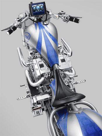 мотоцикл Intel