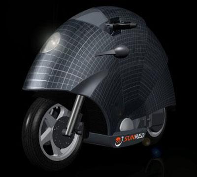 Мотоцикл Moto Solar Urbana SunRed