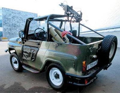 Армейский УАЗ-3150 Шалун