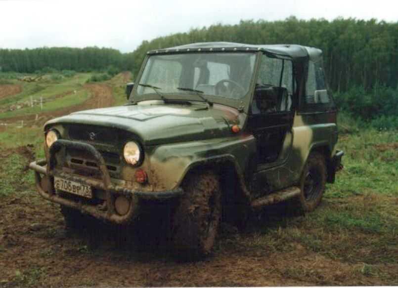 Военный УАЗ-3150
